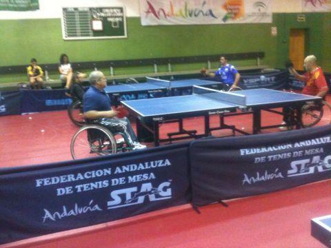 Concentración del equipo de Silla en La Zubia, Granada.