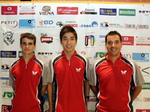 Equipo titular del Club Falcons Sabadell  Foto: Pep Brugada