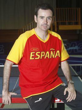 Álvaro Valera, número 1 mundial de la Clase 6, debuta hoy en los Juegos Paralímpicos. (Foto: CPE)