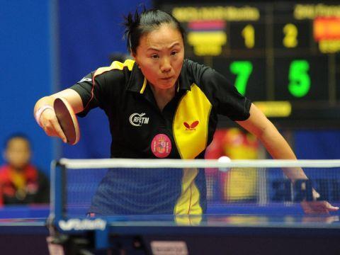 Zhu Fang novedad en la convocatoria de esta segunda jornada. (Foto: Mari Paz Cordo)