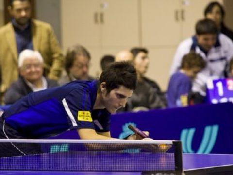 Oriol Monzó, jugador del Bombons Blasi Xaloc Olesa Foto: Alfred Lieury
