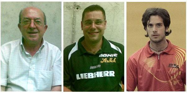 José Jaime Murcia, Daniel Valero y David Soler