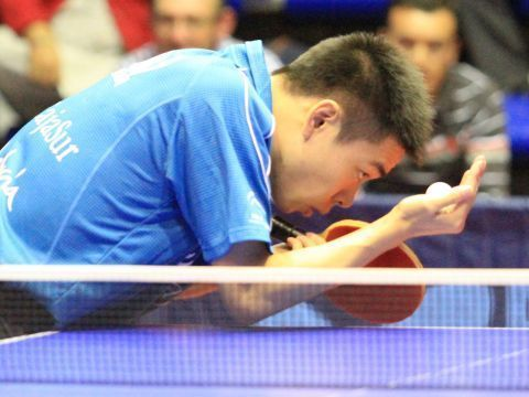 Shuai Lin anotó hoy el punto del CajaSur Priego. (Foto: Priego TM)