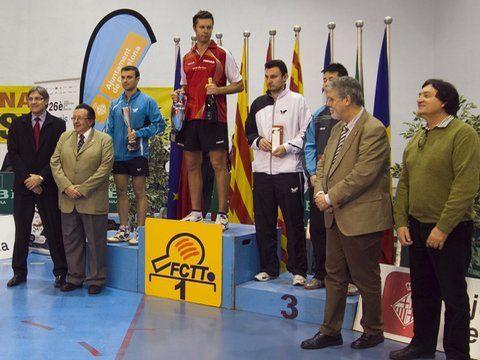 Podio del Torneo Internacional Ciudad de Barcelona