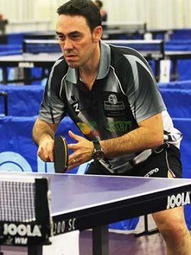 Foto de David Alonso en la Web de la ITTF