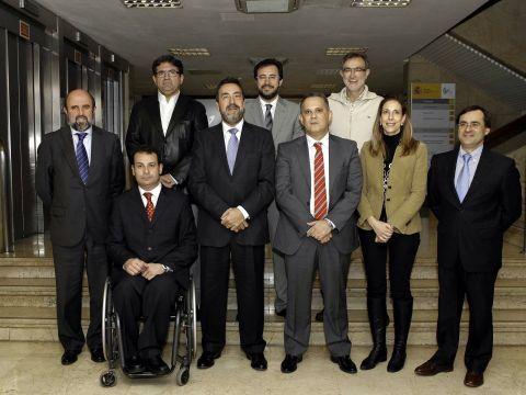 Comité Ejecutivo del Comité Paralímpico Español. (Foto: CPE)