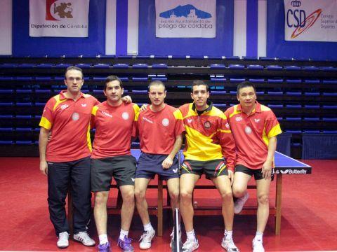 El equipo masculino prepara este partido en el CETD de Priego de Córdoba.