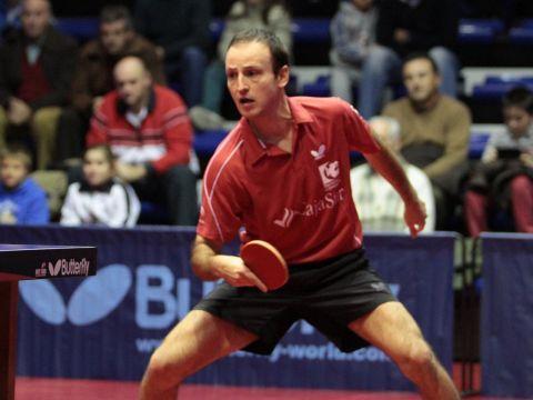 Carlos Machado, jugador del CajaSur Priego Tenis de Mesa