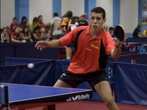 Álvaro Robles en competición