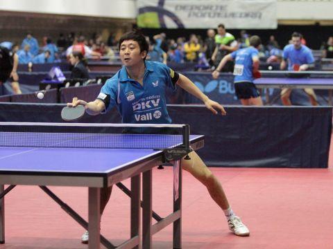 Hu Bin jugador del DKV Borges Vall