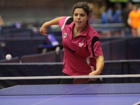Alba Rodríguez, jugadora del Avilés TM