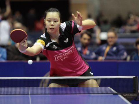 Zhipei Wang anotó el punto del Fotoprix Vic en el partido de hoy.