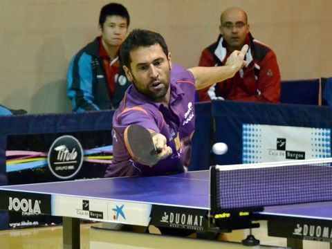 Daniel Torres, jugador del Caja de Burgos. (Foto: Rosi Ayala)