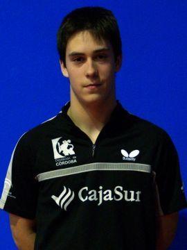 Alejandro Calvo ha ganado dos partidos Foto: CajaSur