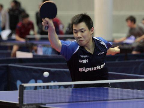 Zhang Sining, jugador del Irún Leka Enea.