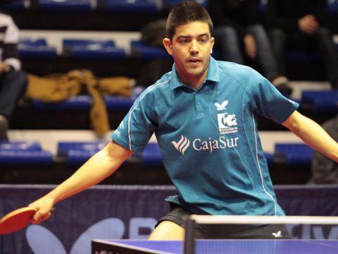 José Miguel Ramírez, jugador del CajaSur Priego Tenis de Mesa