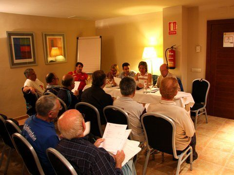 Un momento de la Asamblea celebrada en Almería