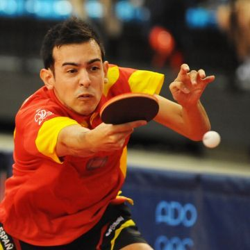 Marc Durán consiguió la clasificación para el cuadro final. (Foto: Pablo Rubio)