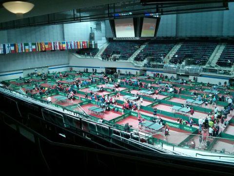 Aspecto del Hall 1 del OVB Arena de Bremen.