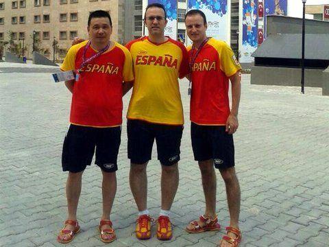 El equipo masculino español.