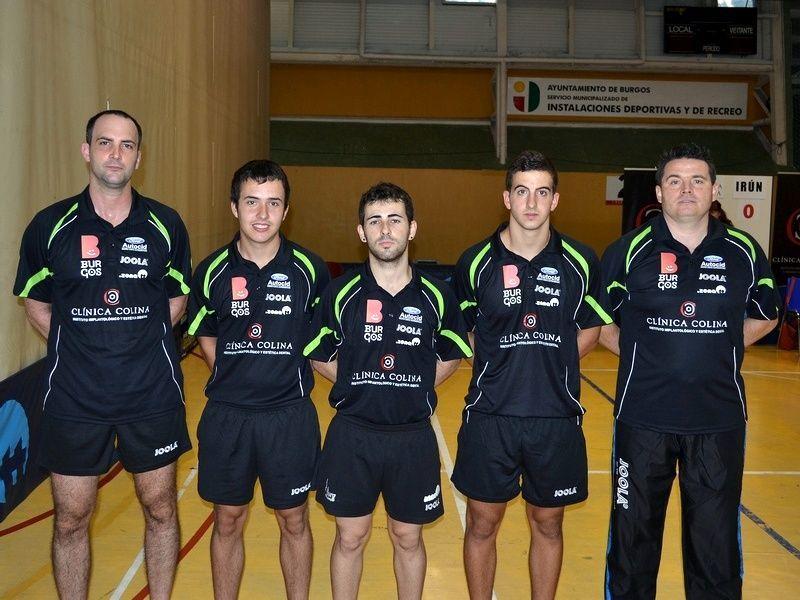 Plantilla del Clínica Colina Burgos para esta temporada. (Foto: Club Burgos TM)