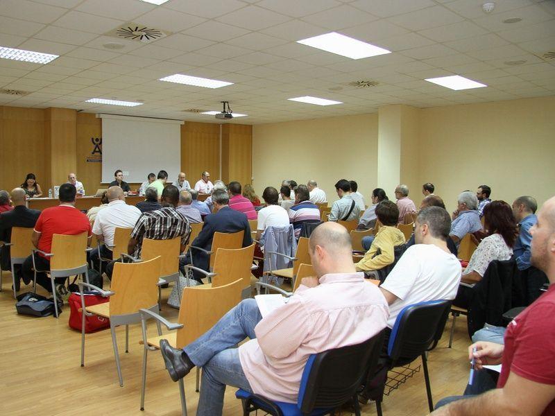 Imagen de una ponencias de este seminario.