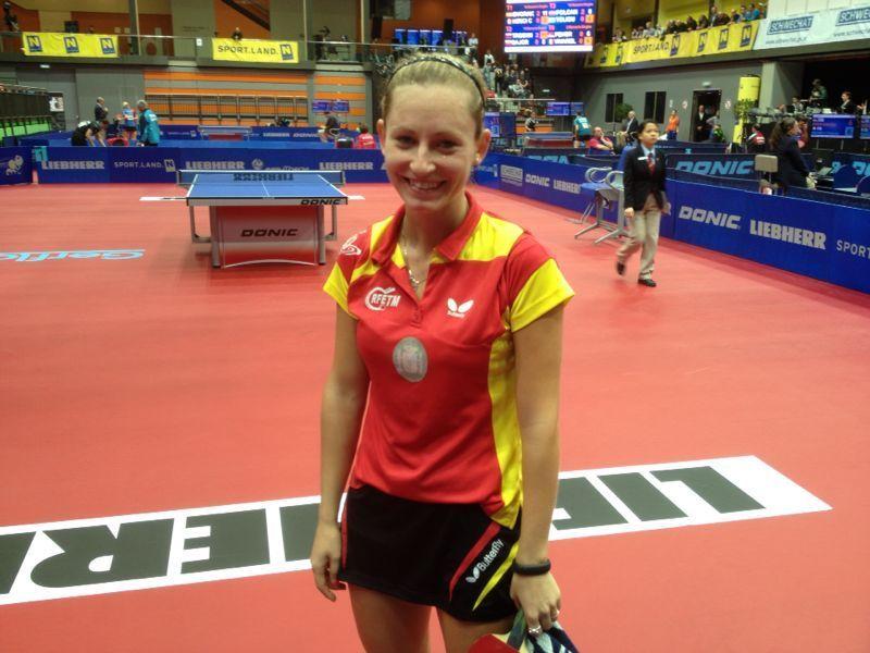 Galia Dvorak logró la clasificación para el cuadro final
