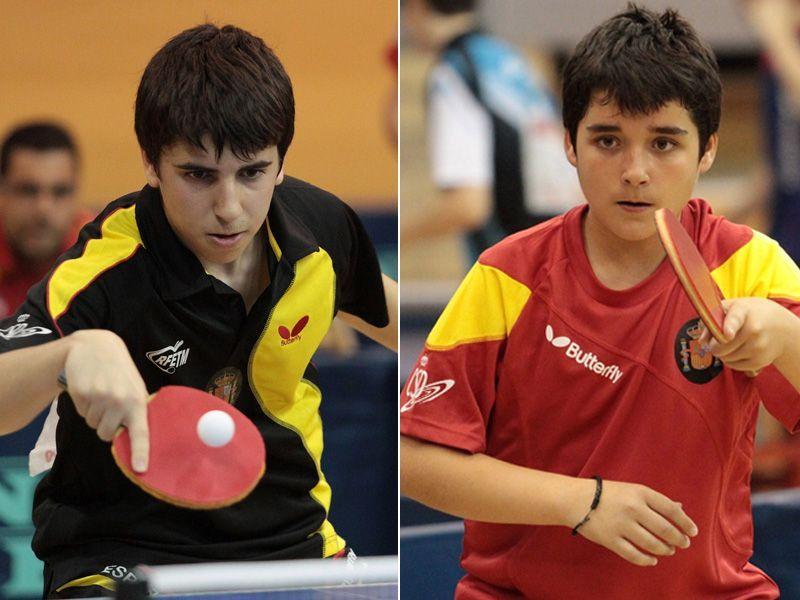 Iván David Pérez y Javier Soria.