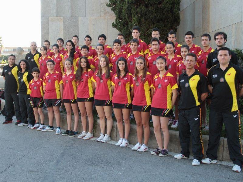Equipo español en el SYOC 2013 celebrado en Platja d´Aro el pasado mes de mayo