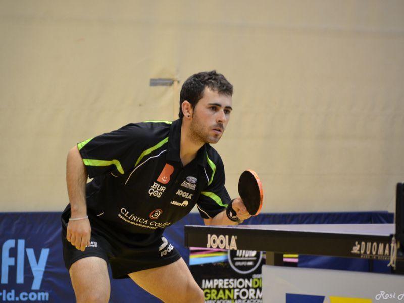 Jorge Ausín, jugador del Clínica Colina Burgos. (Foto: Rosi Ayala)