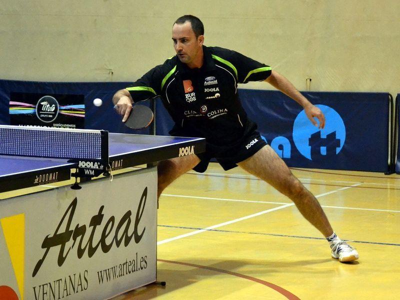 Zoltan Batorfi consiguió el último punto del Clínica Colina Burgos. (Foto: Rosi Ayala)