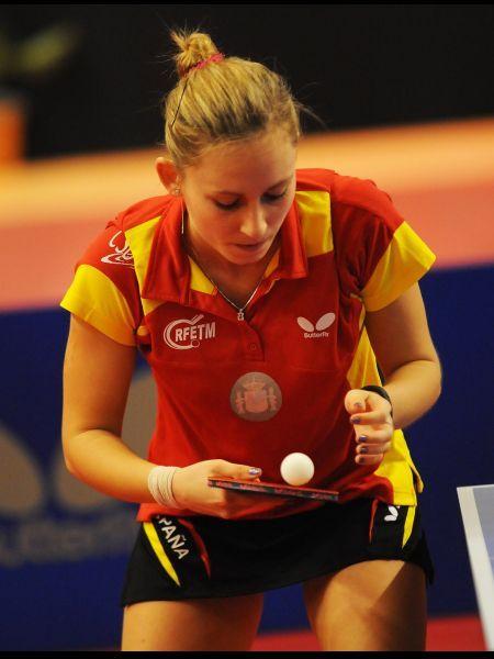 Galia Dvorak ha experimentado la mejor subida en la nueva lista del ranking mundial. (Foto: Pablo Rubio)