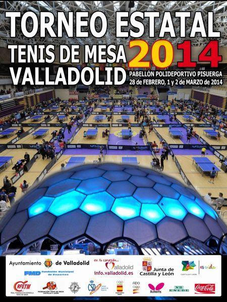 Catel anunciador del Torneo Estatal 2014 que se celebrará en Valladolid.
