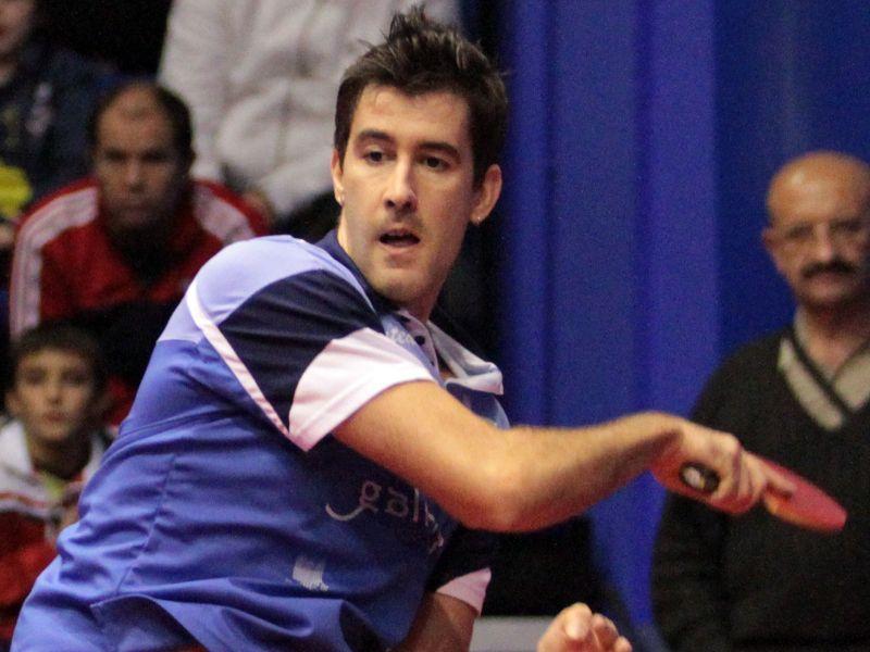 Enio Mendes, jugador del Arteal Santiago. (Foto: Antonio García)