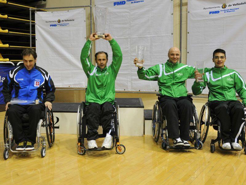 Podios Personas con Discapacidad en categoría Open Silla. (Foto: www.canofotosports.com)