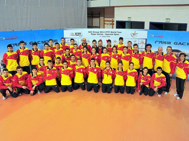 Foto de los participantes españoles en este torneo. (Foto: Alberto Cano)