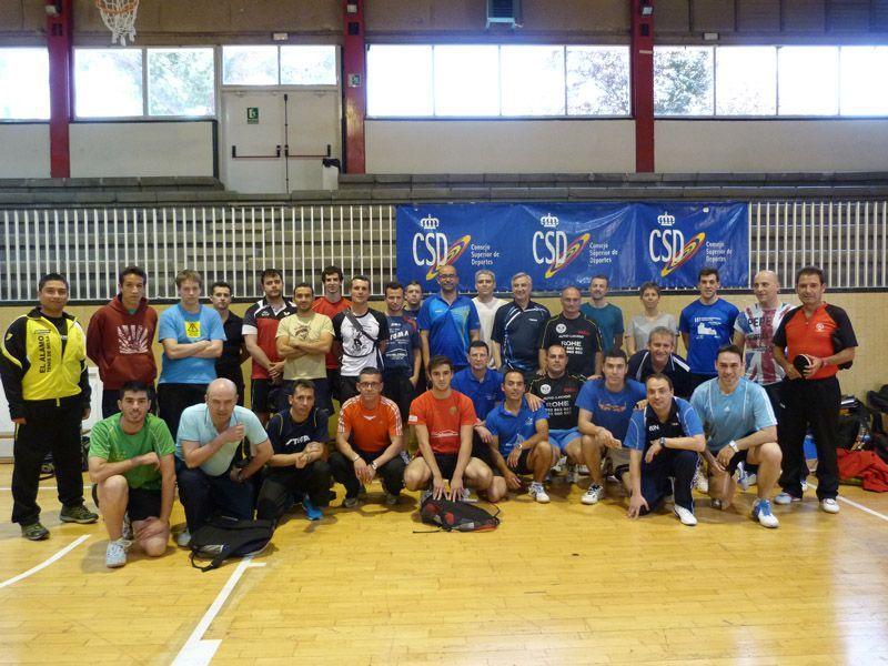 Participantes en el curso de Nivel I
