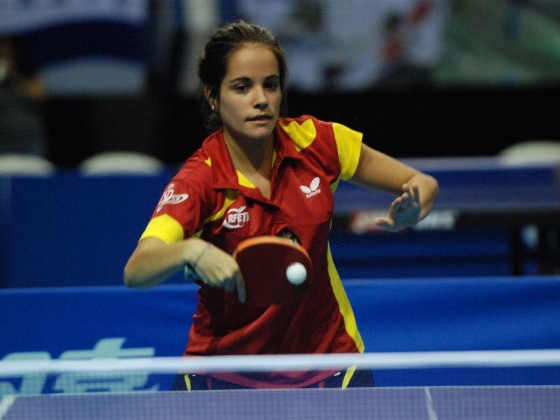 Nora Escartín, componente del equipo Junior Femenino que ha terminado en novena posición.