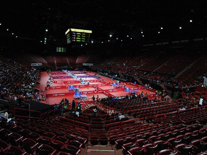 The Huge Arena Paris. (Foto: Lomaev - ETTU)