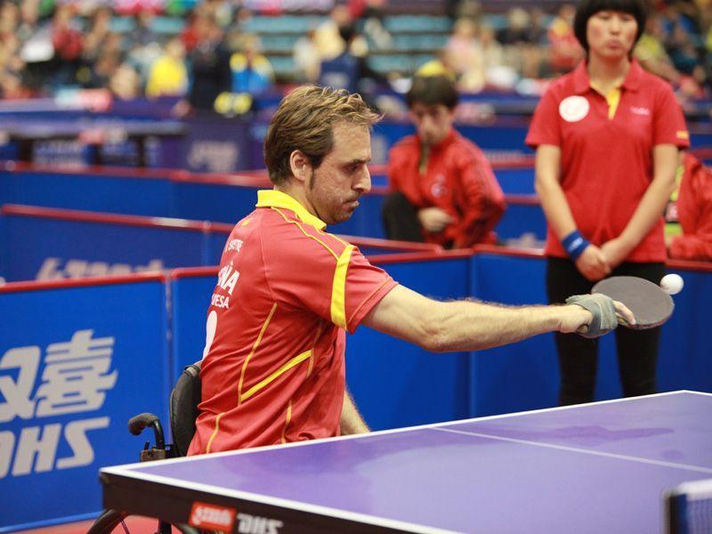 Iker Sastre. (Foto: ITTF)