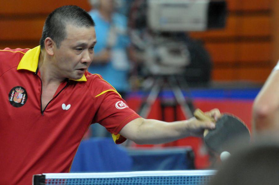 """He Zhiwen """"Juanito"""". (Foto: ITTF)"""