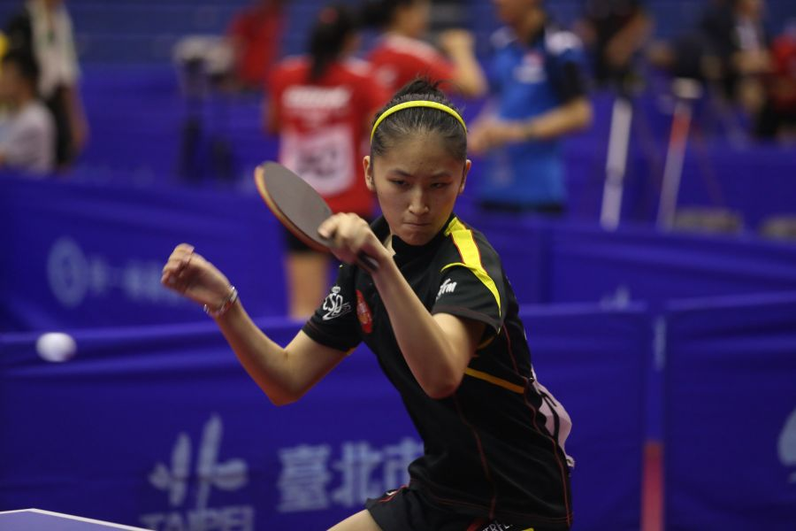 Sofía-Xuan Zhang en Open de Taipéi. (Foto: ITTF)
