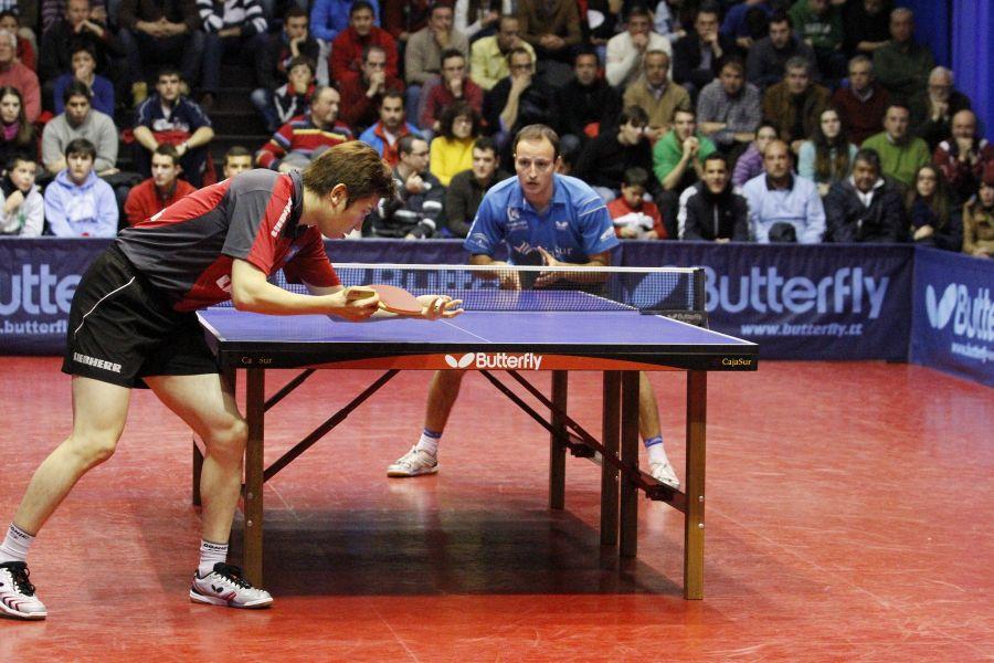 El CajaSur Priego alcanzó la temporada pasada los cuartos de final de la Ettu Cup. (Foto: Antonio García)