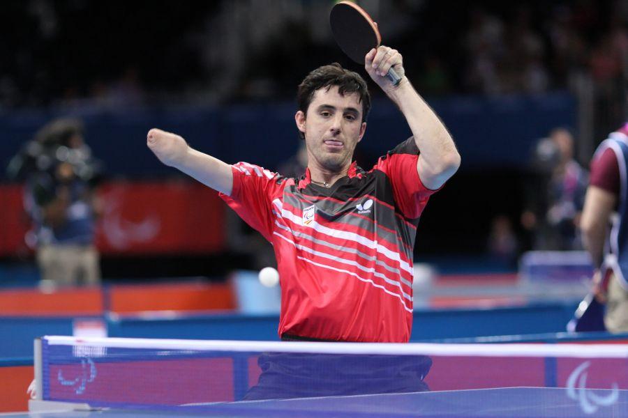 José Manuel Ruiz participando en los Juegos Olímpicos de Londres 2012