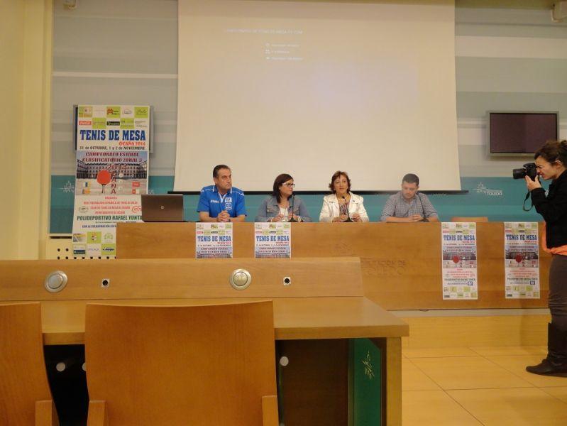 Presentación en la Diputación Provincial de Toledo del Torneo Zonal que se disputará en Ocaña
