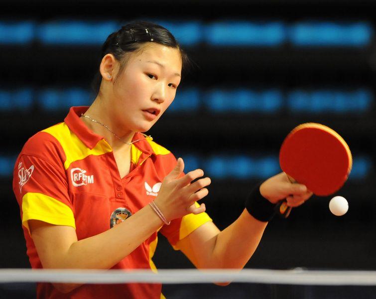 María Xiao competirá en las pruebas Absolutas y Sub 21