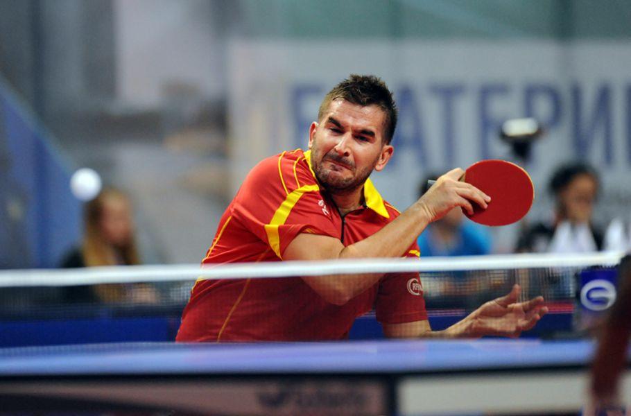 Jesús Cantero en el GAC Group 2014 ITTF World Tour Russian Open. (Foto: ittfworld)