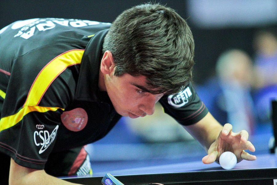 Diego Sánchez compitiendo en Hungría. (Foto: ittfworld)