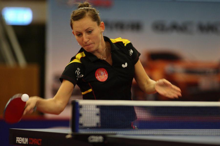 Galia Dvorak en el World Tour de Suecia. (Foto: ittfworld)