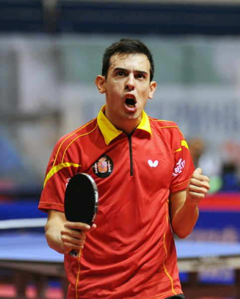 Marc Durán en el World Tour de Rusia. (Foto: ittfworld)